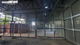 Cận cảnh khu vực xây dựng bệnh viện dã chiến ở TP Hà Tiên