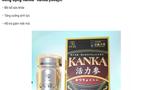 Cẩn trọng quảng cáo thực phẩm bảo vệ sức khỏe Kanka Katasuryokujin