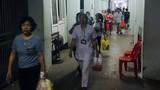 Cháy lớn gần Bệnh viện Nhi Trung ương, 100% bệnh nhân sơ tán