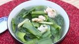 Video: Canh cải bó xôi nấu tôm - món ngon tốt cho người mắc bệnh tuyến giáp