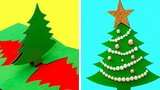 Video: Loạt mẫu thiệp Giáng sinh tự chế đẹp tuyệt vời