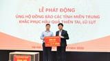 VNPT ủng hộ 10 tỷ đồng để hỗ trợ 5 tỉnh miền Trung khắc phục hậu quả bão lụt