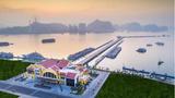 Không gian tuyệt mỹ của Cảng tàu khách hàng đầu châu Á tại Hạ Long