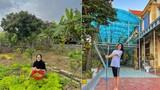 Vườn rau sạch, nhiều cây ăn quả của gia đình Hoa hậu Đỗ Thị Hà