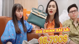 """Hương Giang Idol nhập hội """"đập hộp"""" hàng hiệu với giá trị quá khủng"""