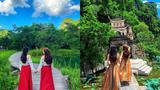 Đôi bạn thân gây sốt với bộ ảnh du lịch đẹp từ cảnh đến trang phục