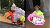 """Hình ảnh miền Trung lũ lụt khiến CĐM thấy """"nhói trong tim"""""""