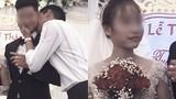 Chú rể bị cưỡng hôn, phản ứng của cô dâu làm ai cũng bất ngờ