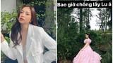 Diện váy cưới, tình cũ Quang Hải khiến dân tình hoang mang