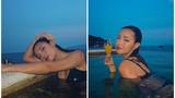 "Đăng ảnh bikini, netizen ""tóm gọn"" Châu Bùi hẹn hò BinZ"