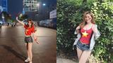 Cổ vũ đội tuyển Việt Nam, cô giáo hot girl nổi khắp cõi mạng