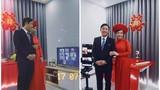 Đám cưới online mùa dịch, ý tưởng tuyệt vời của cặp đôi Sài thành