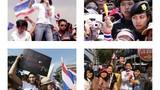 Vẻ đẹp của nữ biểu tình Thái Lan hút mọi ánh nhìn