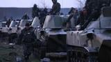 Đoàn quân hùng hậu Ukraine rầm rập tiến vào Slaviansk