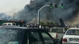 Hiện trường thảm khốc máy bay Iran gặp nạn khiến 40 người chết
