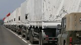Đoàn xe cứu trợ thứ 3 của Nga vượt biên giới vào Ukraine