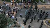 Cảnh sát Hồng Kông rút lui khỏi khu vực biểu tình