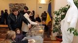 Đảng Thủ tướng Ukraine bất ngờ dẫn đầu cuộc bầu cử