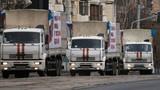 Nga tiếp tục chuyển đợt hàng viện trợ mới sang Ukraine