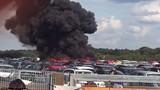Máy bay của gia đình trùm khủng bố bin Laden rơi