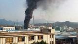 Hiện trường vụ nổ nhà máy hóa chất ở Trung Quốc