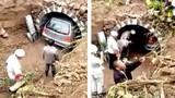 Trung Quốc: Chôn xe hơi cùng chủ nhân qua đời