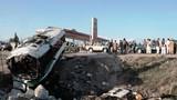 Hiện trường vụ đánh bom liều chết ở Afghanistan, 50 người thương vong
