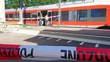 Hiện trường đâm dao loạn xạ trên tàu điện ở Thụy Sỹ
