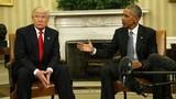 Ảnh: Tổng thống Obama gặp gỡ ông Donald Trump ở Nhà Trắng