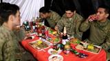 Ảnh: Lính Mỹ ở Iraq mừng Lễ Tạ ơn