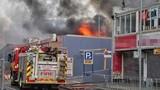 Hiện trường cháy chợ của người Việt ở Australia