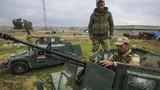 Ảnh QĐ Iraq chuẩn bị giải phóng Tây Mosul từ tay phiến quân IS