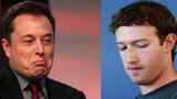 "Elon Musk từng ""khẩu chiến"" gay gắt Mark Zuckerberg trên mạng"