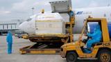 Hơn 1,1 triệu liều vaccine COVID-19 của AstraZeneca đến sân bay Nội Bài