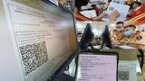 Cận cảnh giấy đi đường QR code đầu tiên được cấp ở Phòng CSGT - CATP Hà Nội