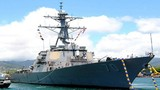 """Cận cảnh tàu chiến Mỹ vừa """"chọc"""" Trung Quốc trên Biển Đông"""