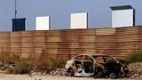 """Cận cảnh 8 bản thử nghiệm """"siêu dự án"""" tường biên giới Mỹ - Mexico"""