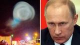 Vật hình cầu bí ẩn phát sáng trên bầu trời Nga gây xôn xao