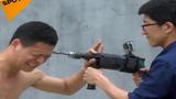 Video: Rợn người võ sư Thiếu Lâm cho máy khoan thẳng vào đầu