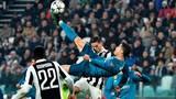 """Video: Cận cảnh siêu phẩm """"ngả bàn đèn"""" của Ronaldo"""