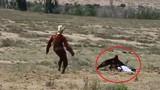 Video: Hãi hùng cảnh đại bàng khổng lồ tấn công bé gái 8 tuổi