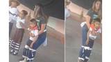 Video: Cô giáo buộc chặt cậu bé vào người để tham gia nhảy cùng các bạn
