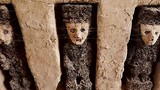 Phát hiện 19 bức tượng gỗ bí ẩn ở thành phố đất sét