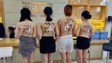 Video: Công ty BĐS vẽ căn hộ mẫu lên 4 cô gái bán khỏa thân để quảng cáo