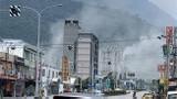 Video: Động đất mạnh nhất trong năm tấn công Đài Loan, Trung Quốc