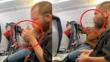 Video: Gã đàn ông coi thường mạng người, châm lửa hút thuốc trên máy bay