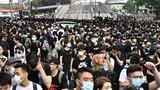 Video: Giao thông tê liệt ở Hong Kong vì biểu tình quy mô lớn