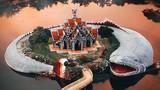 Video: Ghé thăm ngôi đền được canh giữ bởi 'con cá' khổng lồ