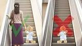 Video: Những điều cần ghi nhớ để giúp bé đi thang cuốn an toàn
