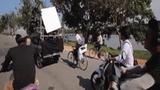Trúc Anh bị ngã mạnh trong video hậu trường 'Mắt biếc'